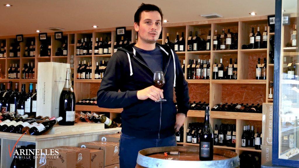 Dégustation vin 1900 appellation Saumur Champigny du domaine des Varinelles