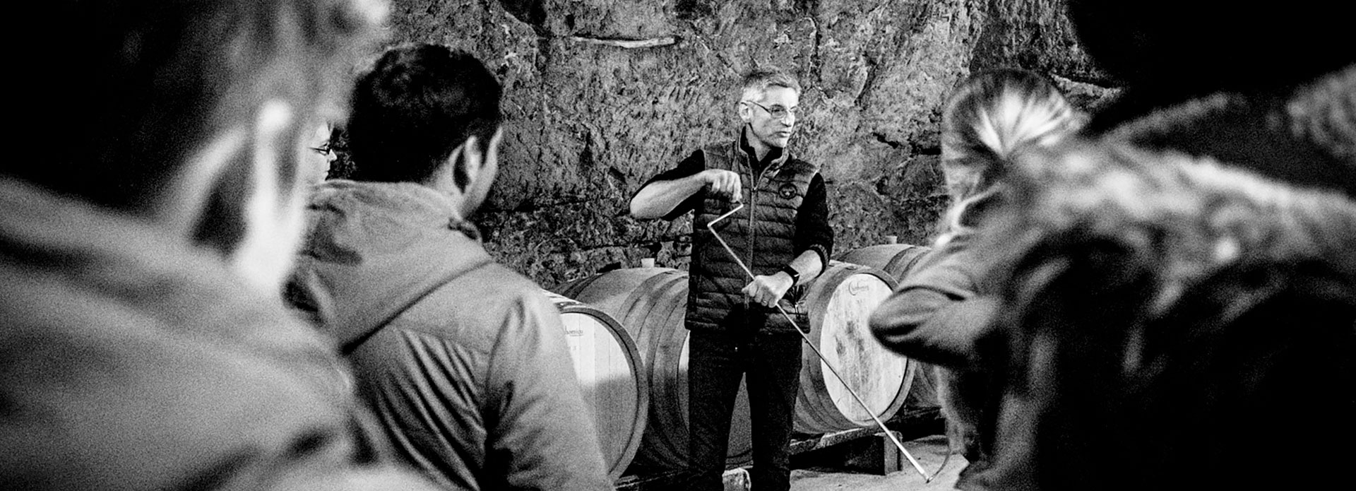 Laurent Daheuiller oenotourisme et visite de cave du domaine des Varinelles