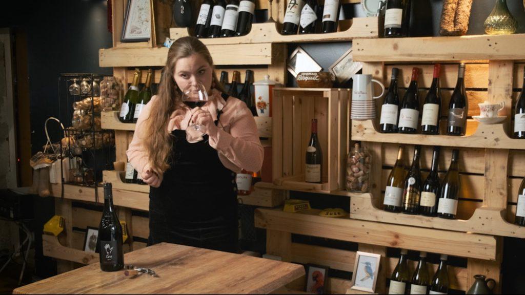 Dégustation vin Les Cinq appellation Saumur Champigny du domaine des Varinelles